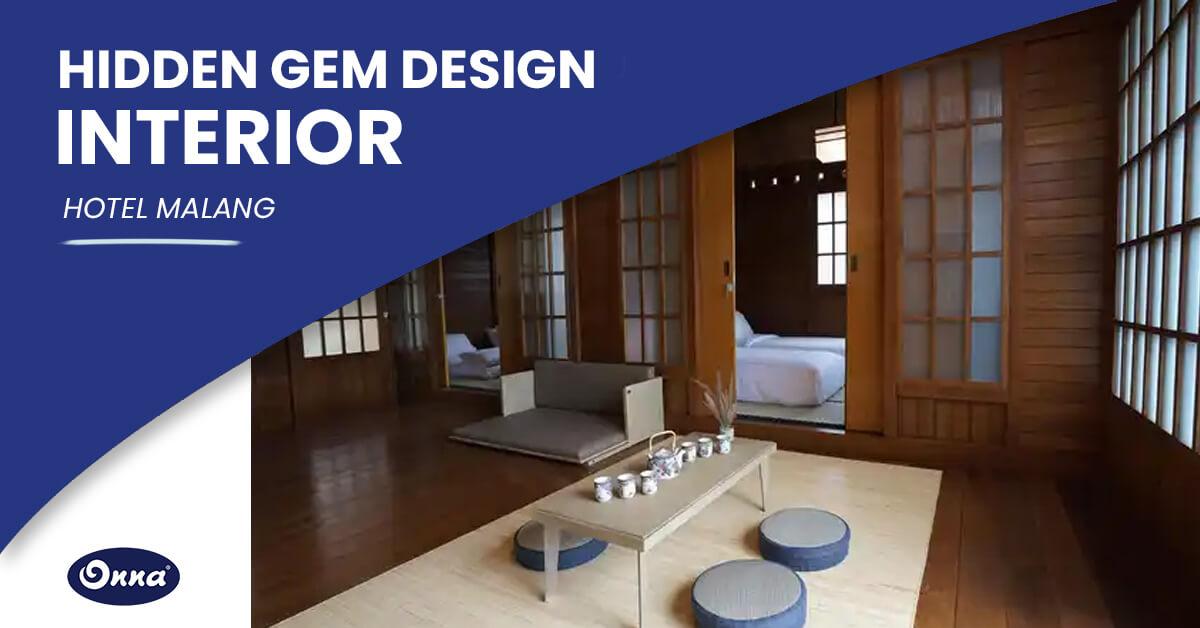 Hidden Gem Desain Interior Hotel Malang